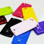 Glittering Vivid Colours Silicone Case for Xperia LT15i / LT18i / X12