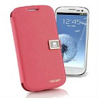Samsung Galaxy S3 i9300 Leather Diary Flip Cover with Soft Pastel Colour Choices Fitted with Hard Back Shell