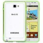 Samsung Galaxy Note i9220 Plastic Frame Bumper Case