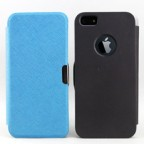 iPhone 5 Folio Flip Case with Apple Logo Cutout
