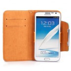 Galaxy Note 2 Korean Style Leather Wallet