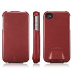 Premium Leather Flip Case for iPhone4/4S
