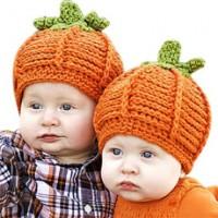 Comfy Pumpkin Crochet Beanie