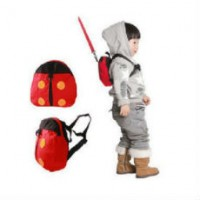 Baby Kid Keeper Toddler Walking Safety Harness Backpack Bag Strap Rein Ladybug