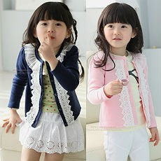 Dainty Korean Lace Blazer