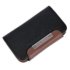 Ultra Slim Leather Wallet Case For HTC ONE X