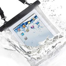 WaterProof Case for Your iPad or any other tablets that fits - For Use in your Bathtub, by the Pool, on the Beach etc