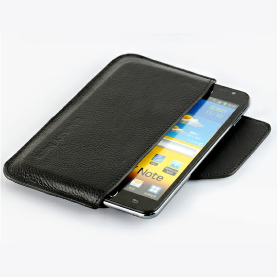 Protective Leather Sleeve Case for Samsung Galaxy S3 / S4