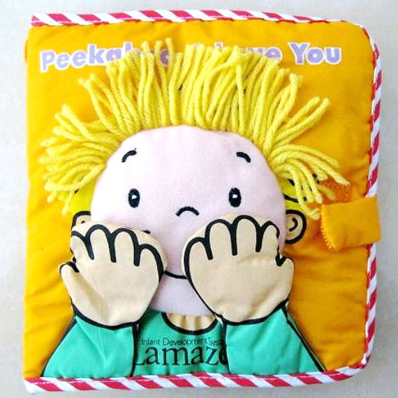 Baby Cloth Book - Design to Let Toddlers Love Books Early