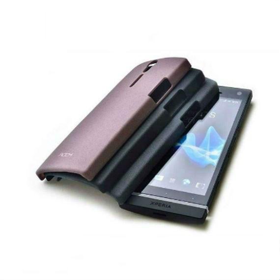 Xperia S LT26i Matte Surface Plastic Case