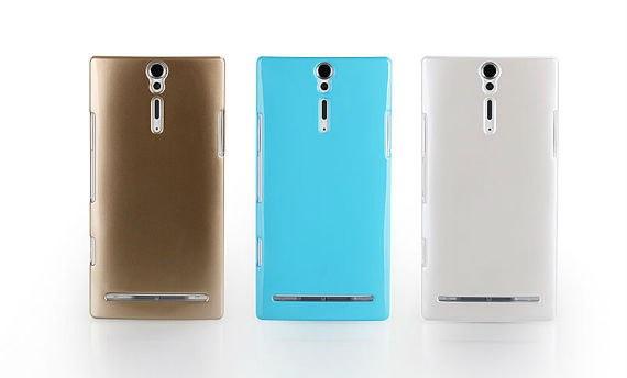 Xperia S LT26i Ultra Thin Sparkling UV Case