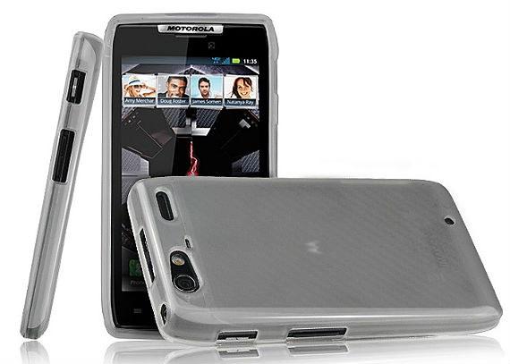 Motorola RAZR MAXX Rubberized Soft Case