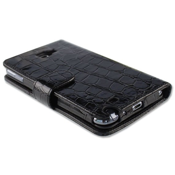 Samsung Galaxy Note i9220 Executive Crocodile Textured Leather Case