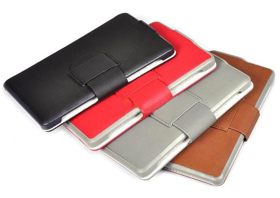 Amazon Kindle Touch Classic Soft Textured Leather Flip Cover