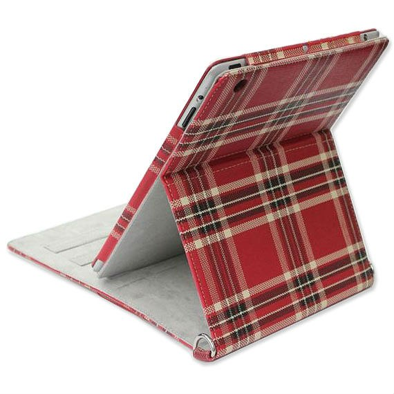 Checkered iPad 2 Case cum Sling Bag
