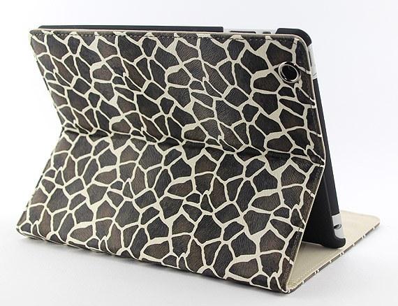 The new iPad / iPad2 Giraffe Print Case