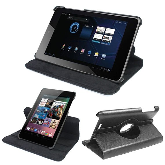 Google Nexus 7 360 Degree Rotatable Leather Case
