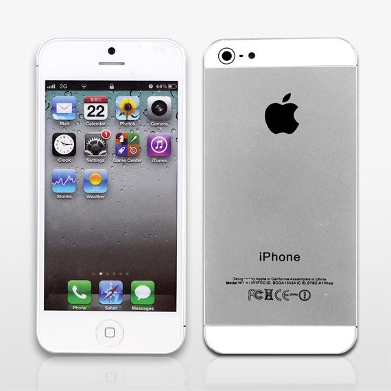 iPhone 5 Real-life Dummy