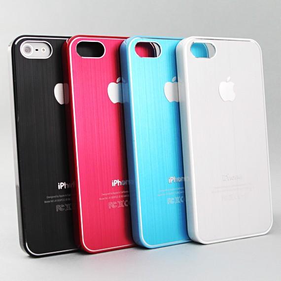 iPhone 5 Metallic Armour Shell