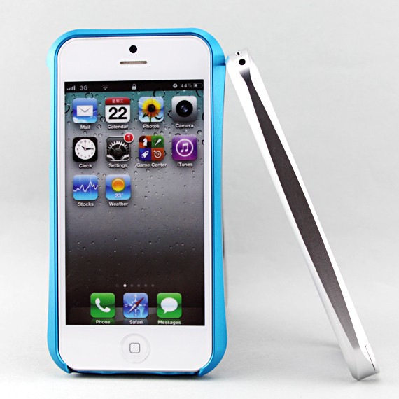 iPhone 5 Metallic Bumper Frame Case