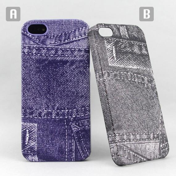 iPhone 5 Denim Theme Snap-on Case