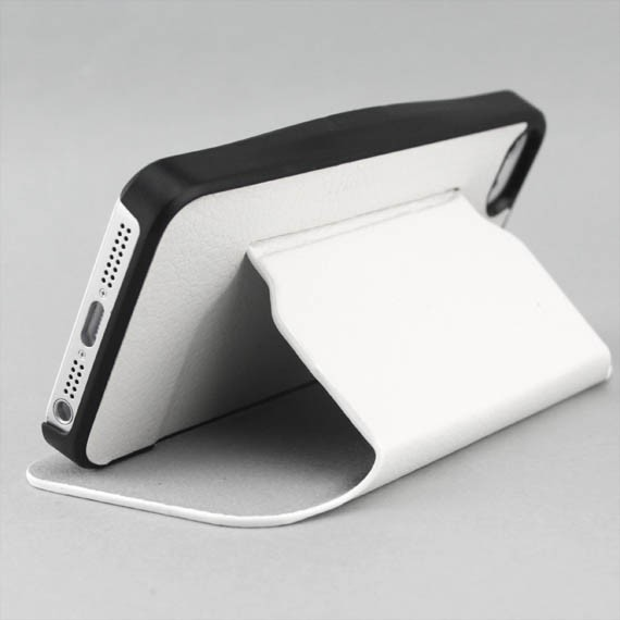 iPhone 5 Folio Leather Case with Built-in Stand