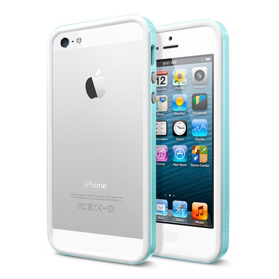 iPhone 5 SGP Neo Hybrid EX Slim Snow