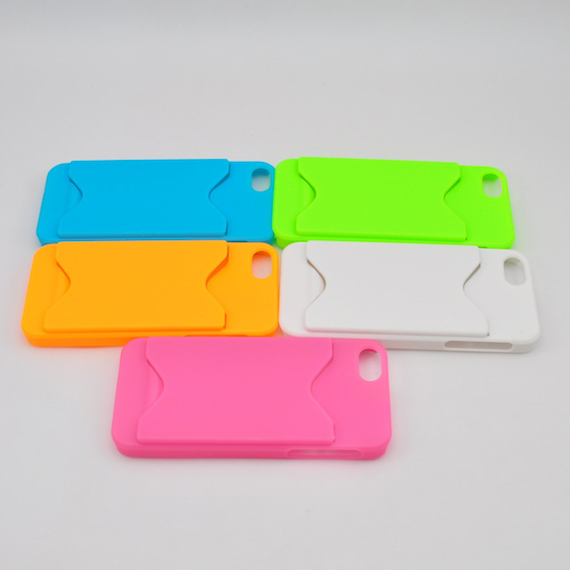 iPhone 5, iPhone 5S Sand Coated Case with External Card Slot