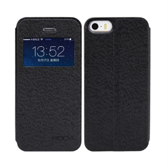Rock iPhone 5 / 5S View Flip Cover Folio Case