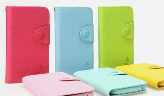 Phone 5 Colour Symphony Wallet Case