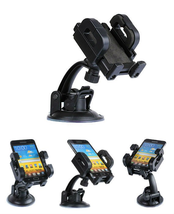 Sony Xperia Ion LT28i / Galaxy Note / HTC One XL Adjustable Car Holder Cradle with Swivel Mount