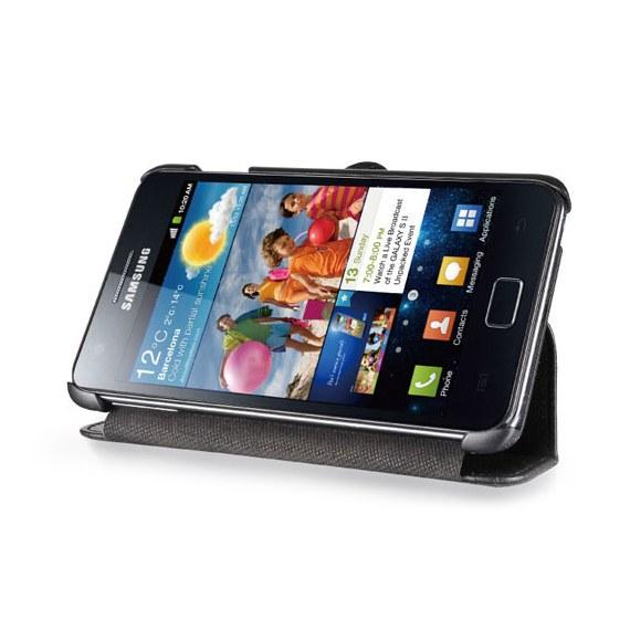 Premium Leather Flip Case for Samsung Galaxy Note