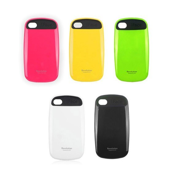 Glossy Colors Anti-Shock Case for iPhone 4/4S