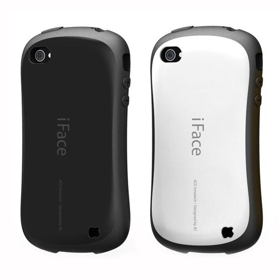 First Class Anti-Shock Urethane Bumper Case for iPhone 4 / 4S