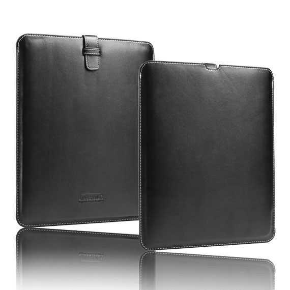 The new iPad / iPad2 Leather Slip in Case