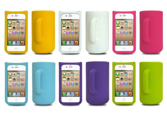 Mug silicon iPhone case