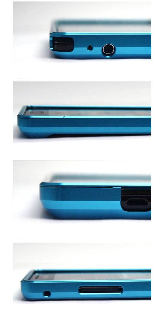 Aluminum Metal Frame Bumper Case for SAMSUNG Galaxy S2 i9100