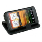 Book Type Flip Stand Leather Wallet Case for HTC One X