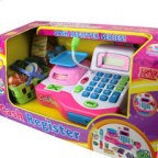 Multi-purpose Cash Register Toy Set with Credit Card Function