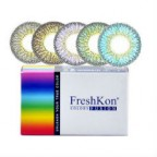 6 x 2 Lenses Pack FreshKon COLORS FUSION-Sparklers Cosmetic Contact Lens