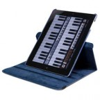 360 Degree Rotating Smart Cover Case/Stand for The new iPad / iPad 2