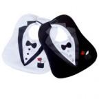 Costume Tuxedo Bibs for Baby