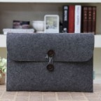 Envelope Style Wool Felt Sleeve Case for Macbook Air