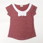 Stripe Tee with Ribbon for Toddler