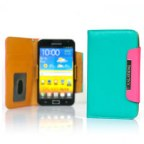 Leather Wallet Case for Samsung Galaxy Note i9220