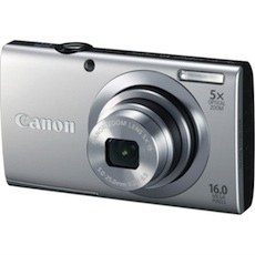 Canon PowerShot A2400 16MP Digital Camera with 5x Optical Zoom 24mm Wide-Angle Lens, 1080p Full HD, 3.2-Inch Touch Panel LCD