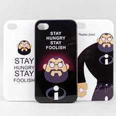 iPhone 4 / 4S Steve Jobs Tribute Snap-on Case