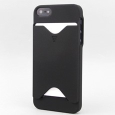 iPhone 5 Matte Shell with Exterior Card Slot