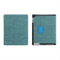 iPad Mini Pastoral Leather and Canvas Case with Stand