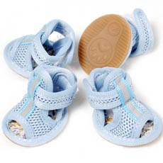 Lightweight Mesh Reflective Dog Sandals